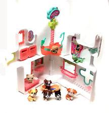 THE LITTLEST PET SHOP Toys RESCUE CENTRE Playset & Animal figures set lot