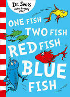 NEW, DR SEUSS. ONE FISH TWO FISH RED FISH BLUE FISH