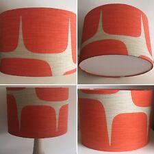 Scion Lohko Paprika Drum Fabric Lampshade Handmade (20 25 30 35 40cm)