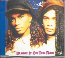 MILLI VANILLI - Blame it on the rain CDM 3TR West Germany 1989 (Hansa)