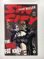Sin City  #2 of 5  NM-  Dark Horse comic 1995 Miller Big Fat Kill