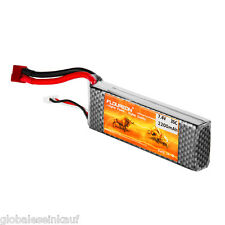 2S 35C 7.4V 2200mAh LiPo Akku Batterie Deans Für RC Hobby Hubschrauber Drohne DE
