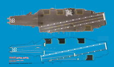 Peddinghaus 3105 1/1250 USS 65 Enterprise Decksmarkierungen