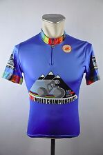 Castelli 1986 connue vintage radtrikot Cycle Jersey Maglia roue maillot taille 2 j026