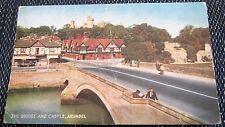 England Sussex Arundel The Bridge & Castle - posted 1961