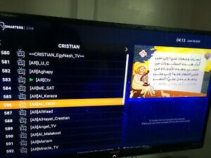 Christian + Arabic TV Box God Is Love  جهاز القنوات العربية و المسيحية 3 سنوات