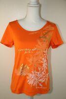 Lauren Ralph Lauren Shirt Color Orange Medium Large LRL Logo