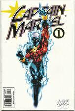 Captain Marvel v4 #1 NM Jan 2000 white cover variant Peter David ChrisCross
