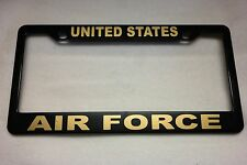 Military License Plate FRAME, UNITED STATES/AIR FORCE-- ABS-#841122G