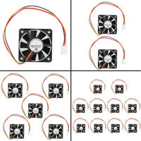 30/ 40/ 50/ 60/ 70/ 80/ 120 mm 2/3/4Pin DC 12V PC Computer  Cooling Fan