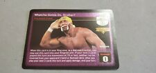 WWE RAW DEAL HULK HOGAN WATCHA GONNA DO, BROTHER? ORIGINAL ULTRA RARE