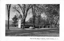 North Conway New Hampshire Waffle Shop Cabins Real Photo Antique Postcard K24558