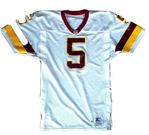 1995 Heath Shuler Redskins QB Jersey Rare Find Home White Game Issued Starter