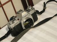 CANON AV-1 35mm SLR FILM CAMERA BODY ONLY AS IS