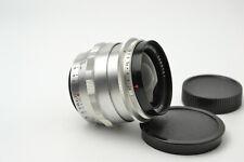 Carl Zeiss Jena Flektogon 2.8/35 M42 lens Silver S/N 5889751