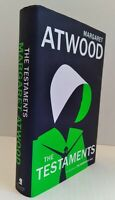 Margaret Atwood THE TESTAMENTS The Sequel to the Handmaid's Tale 1st Edition 1st