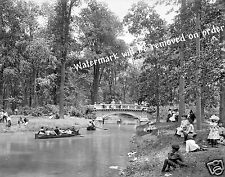 Photograph of Detroit Michigan Belle Isle Park Year 1905 11x14