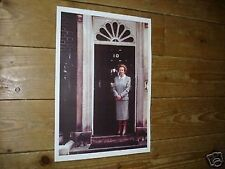 Margaret Thatcher Prime Minister outside No 10 Poster