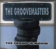 The Groovemasters-The Crowd is Movin cd maxi single