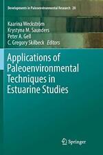 Applications of Paleoenvironmental Techniques i. Weckstrom, Kaarina.#*=.#*=