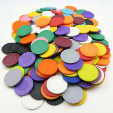 250 x Diamond Style 4g Plastic Poker Chips / Checks - END OF LNE COLOUR REJECTS