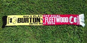 Burton Albion VS Fleetwood Town  League Two play-off final 2014.