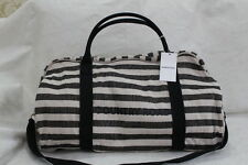 country road tote  bag --stripe