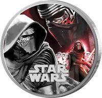 Niue - 2 Dollar 2016 - Star Wars™ Force Awakens™ (1.) Kylo Ren™ - 1 Oz Silber PP