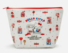 """Hello Kitty Sanrio XTra-Large Cosmetic Pouch/Case Size: 11.81"""" x 4.33"""" x 7.87"""""""