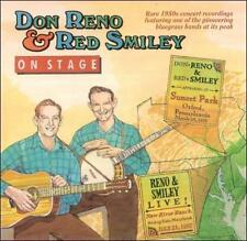 "DON RENO & RED SMILEY, CD ""ON STAGE, 1957-1958"" NEW SEALED"
