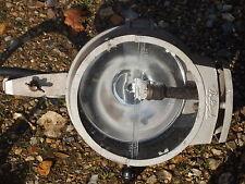 A NICE VINTAGE INDUSTRIAL BULLFINCH MINI FLOOD LAMP GAS LIGHT