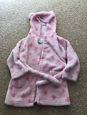Girls Baby Pink Dressing Gown Age 18-24 Months