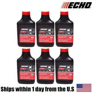 (6) Genuine OEM ECHO Red Armor 2 Cycle Oil 2.5 Gallon Mix 50:1 6550025 6.4oz