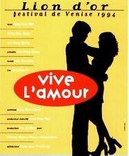 1994 Venise Film Festival Tsai Ming-Liang Promo Vintage Postcard P100