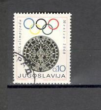 JUGOSLAVIA 1198 -  OLIMPIADI 1968 - MAZZETTA  DI  20 -  VEDI FOTO