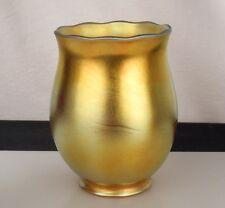 Antique Steuben Gold Aurene Glass Lamp Shade  47236