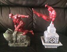 Rare Marvel Daredevil Statue Figure DIORAMA européen Exclusif 40th Anniversaire