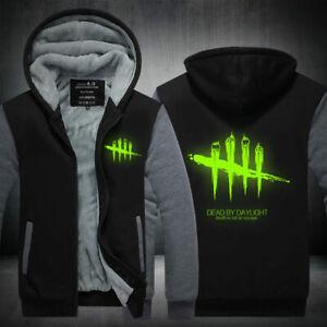 Dead by Daylight Hoodie Zipper Sweatshirt Warm Coat Jacket Luminous Edition
