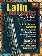 Latin Solo Series for Flute Book/audio files