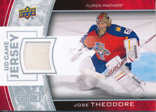2013/14 Upper Deck Series One GJ-TH Jose Theodore UD Game Jersey Insert