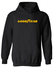 Goodyear Tire HOODIE Company Automotive Auto Moto Super Car Black HOODIE