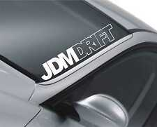 JDM DRIFT PEGATINA DEL parabrisas coches de Bajo Bajada DUB VW M15