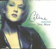 CELINE DION Call the Man 4TRX EDIT& LIVE MEDLEY Europe CD single SEALD USA seler