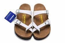 Birkenstock Mayari Birko-Flor Sandals Men's Women's Shoes White Size 36