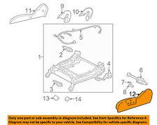 TOYOTA OEM 96-02 4Runner Seat Track-Cushion Shield Left 7181235100B1