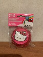 Hello Kitty Birthday Party Cupcake Liners Baking Cups 50 Ct.