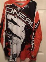 Oneal Element Racing Motocross Dirt Bike Mens XXL  2XL Jersey Shirt MX ATV SFX