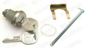 Trunk Lock Cylinder with 2 keys for listed GM Buick Chevy Olds Pontiac