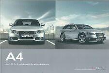 2011 AUDI A4 Avant/Berlina brochure it 1.8/2.0TFSI-3.2FSI-2.0/2.7/3.0TDI-quattro