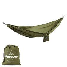 Northcore relajarse Hamaca Nuevo Verde Nylon Ligero Mochilero Camping
